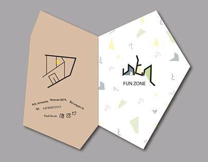 Asymmetric brochure for fun zone