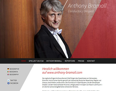Anthony Bramall - Conductor / Dirigent