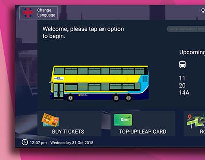 Dublin Bus Ticketing KIOSK