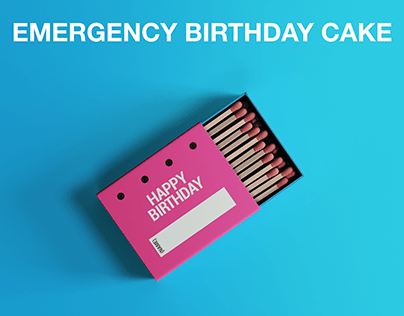 Birthday Matches Box