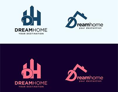 Dream Home Logo for Branding