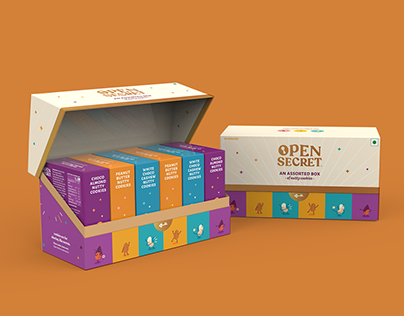Unboxing Experience for Healthy Cookies