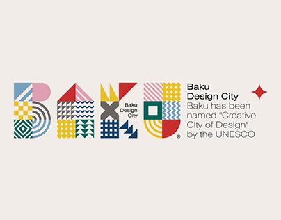 """Baku Design City"" City branding identity"