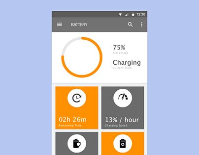 Battery Mobile App