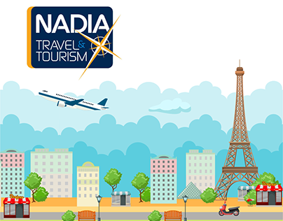 Nadia Travel | Radio Spot & 2D Animation