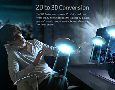 Samsung 950 LED Monitor