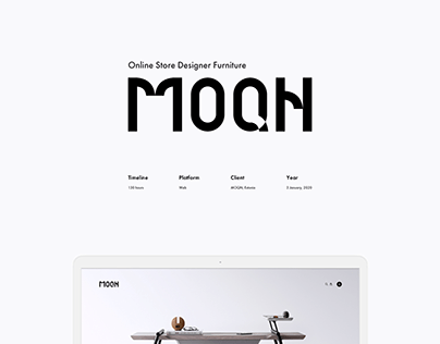 MOQN - E-commerce website