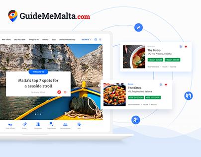 GuideMeMalta.com Online Travel Platform