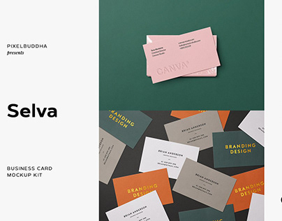 Business Card Mockup Collection