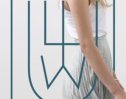 LITWU fashion brand Logo proposal