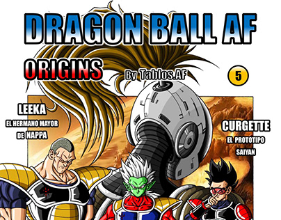 DRAGON BALL AF ORIGINS, Nº 5 (EDICIÓN EN ESPAÑOL)