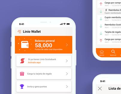 Linio Wallet