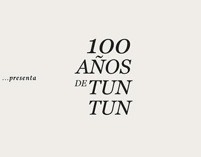 Cemento Sol - 100 años de Tun Tun (website)