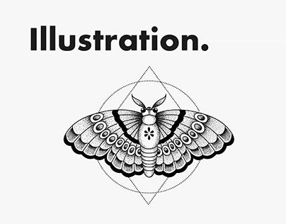Illustration series - Line drawing