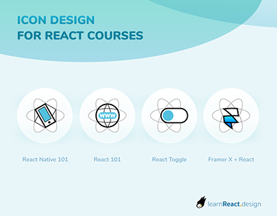 Icon Design for React Courses