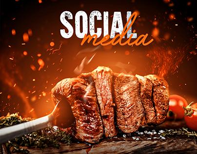 Social Media - Churrascaria
