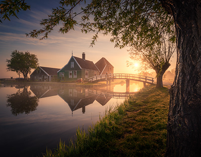 Zaanse Schans: A Dutch Fairytale