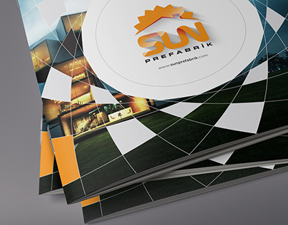 Sun Prefabricated Catalogue Cover Design