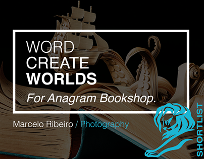 Word Create Worlds (Anagram Bookshop)