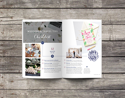 Get Married Away Fall 2016 Publication Design