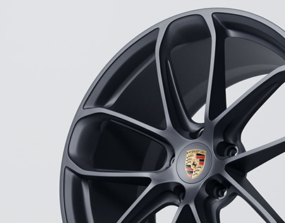 Porsche GT Design Wheel