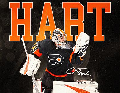 Carter Hart - Philadelphia Flyers