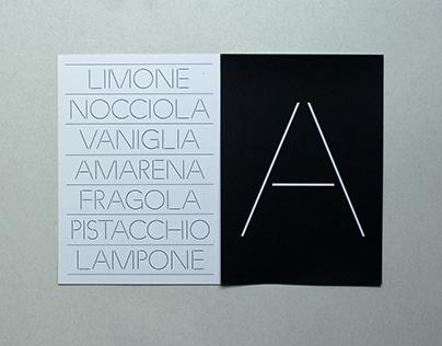 Linea Stencil Typfeace