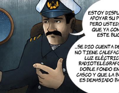 Piloto Pardo: El Cómic