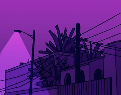 LA (late evening)