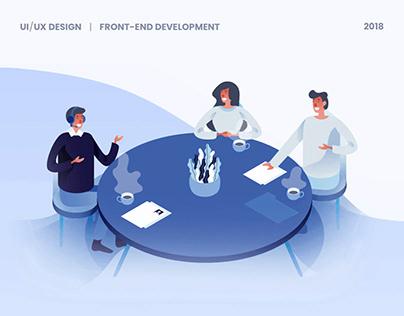 TalkM Website | UI/UX Design