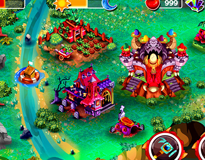 Houses for Fantasy Monster Girls