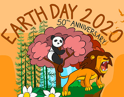 Earth Day 2020 Mother Nature