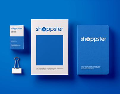 Criação de identidade- Shoppster