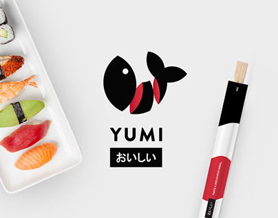 Yumi Sushi Restaurant Branding