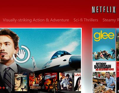Netflix - Gesture Control