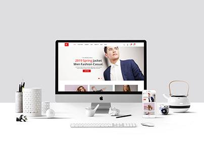 E Commerce Responsive Website