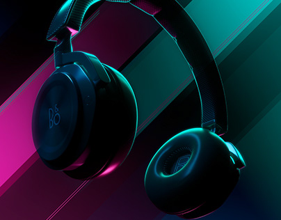 Headphones / Iluminación 3D