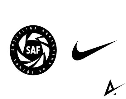 SuperLiga Argentina de Futbol X Nike