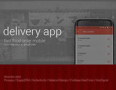 Delivery App Mobile Fast-Food