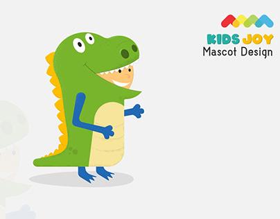 KidsJoy Mascot Design