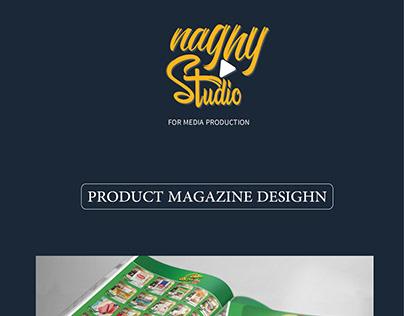 product magazine desighn
