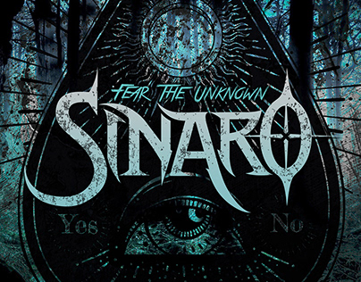 "SINARO ""Fear The Unknown"" single artwork"