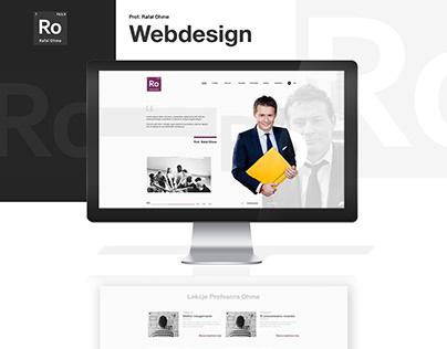 Prof. Rafał Ohme Website