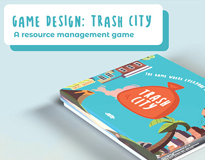 Trash City: Resource Management Board Game Design