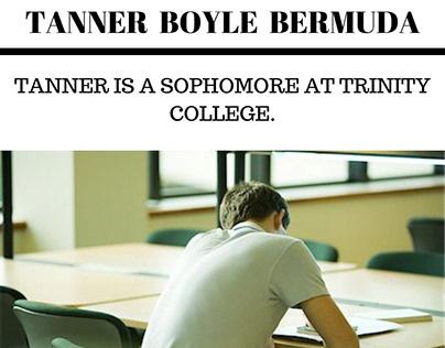 Brief Introduction Tanner Boyle of Bermuda