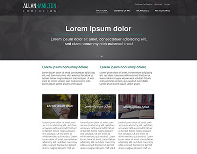 Allan Hamilton Web Design