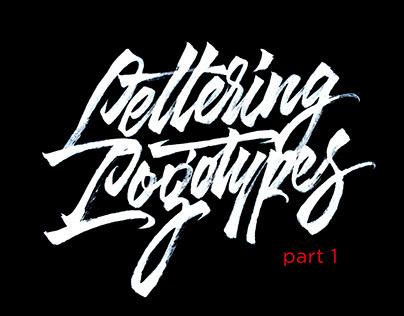 Lettering Logotypes Part 1