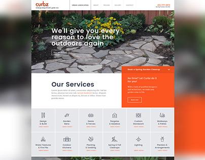 Web Design // Landscaping Company Website