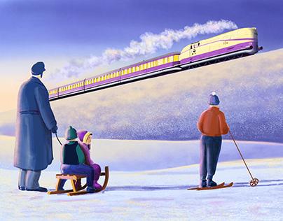 The Henschel-Wegmann-Train