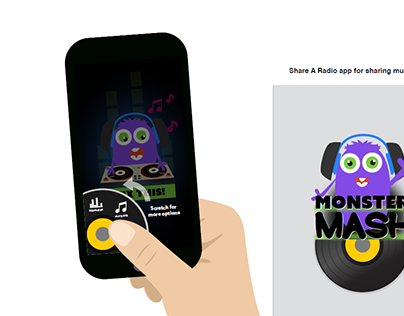 MonsterMash App Visual Design